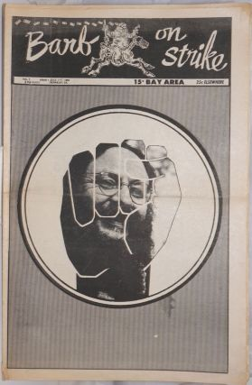 Barb on Strike; Vol. 1 Issue 1, July 11-17, 1969 [predecessor to the Berkeley Tribe]. Red...