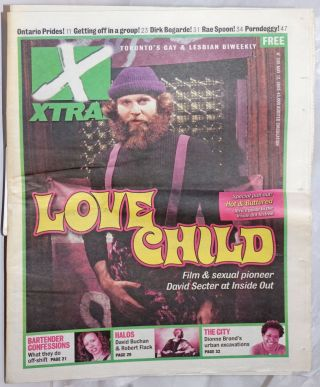 Xtra! Toronto's lesbian & gay biweekly; #536, May 12, 2005: David Secter - Love Child