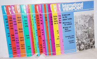 International viewpoint [21 issues for the year 1985]. United Secretariat Fourth International