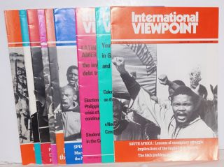 International viewpoint [9 issues for the year 1986]. United Secretariat Fourth International