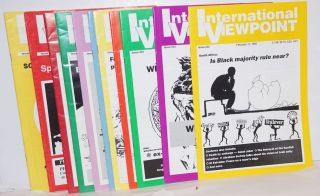 International viewpoint [12 issues for the year 1992]. United Secretariat Fourth International