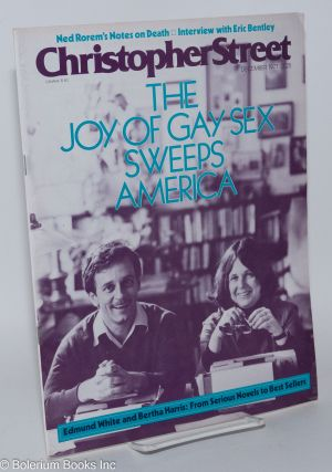 Christopher Street: vol. 2, #6, December 1977; The Joy of gat Sex Sweeps America. Charles L....