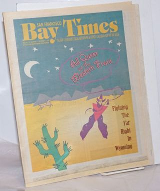 San Francisco Bay Times: the gay/lesbian/bisexual newspaper & calendar of events for the Bay Area; [aka Coming Up!] vol. 15, #1, Oct. 7 - December. 2, 1993 [5 issue run]