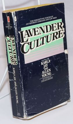 Lavender Culture [signed]. Karla Jay, Allen Young, Arthur Bell Rita Mae Brown, Fag Rag Collective...