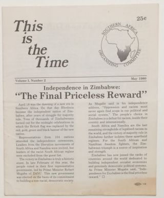 This is the time. Vol. 1 no. 2 (May 1980