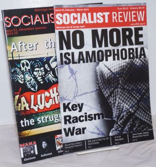 Socialist Review [2 issues of the magazine, New Zealand
