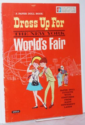 Peter and Wendy Dress Up for the New York World's Fair / official edition / Paper Doll Cutouts...