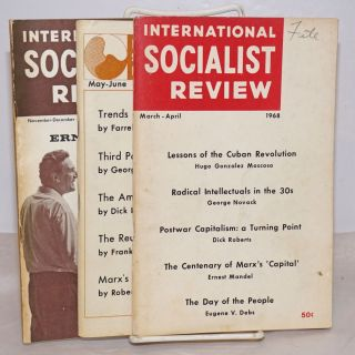 International Socialist Review 3 issues for 1968 [3 issues for 1968