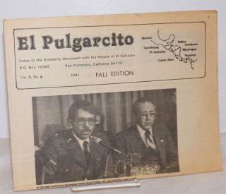 El Pulgarcito: voice of the Solidarity Movement with the People of El Salvador Vol. 6 #3, 1981;...