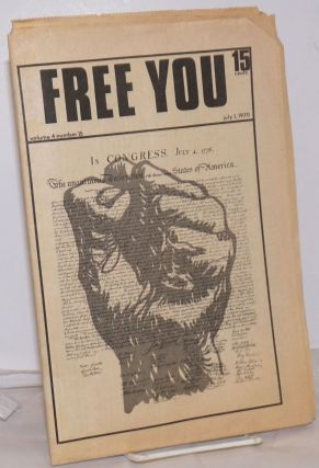 Free You: Vol. 4, No. 15, July 1, 1970