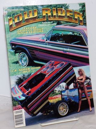 Low Rider: vol. 10, #4, September 1988; Expose Graffiti Night Ninja feature