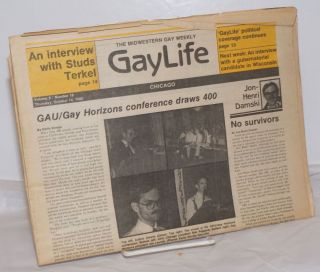 Chicago GayLife: the international gay newsleader; vol. 8, #18, Friday, October 14, 1982; an...