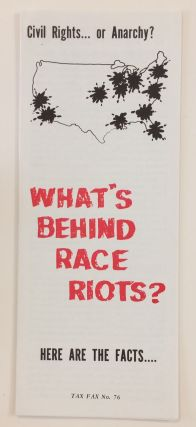 What's behind Race Riots?