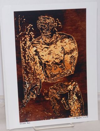Golden Boy [digital print signed and dated]. Hever? Jim