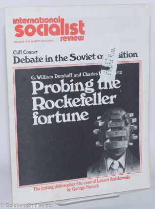 International Socialist Review [January 1975]. ed Les Evans