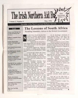 The Irish Northern Bulletin. Vol. 2, no. 5 (May, 1994