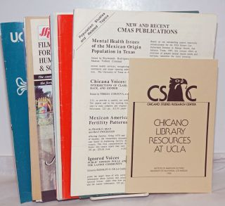 Latin American/Hispanic American/Chicano Library resources and publication catalogues [21 items