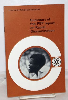 Summary of the PEP report on Racial Discrimination