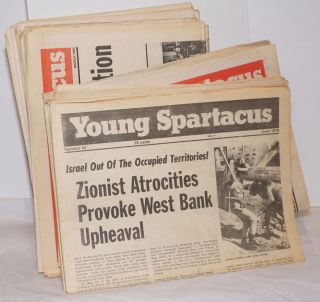 Young Spartacus [42 issues of the newspaper]. Bonnie Brodie, ed
