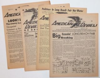 American Review [four issues: 3, 4, 7, 10