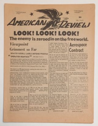 American Review [two issues: 7, 10