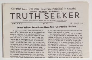 Truth seeker. Volume 98, no. 5 (May 1971