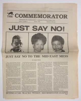 The Commemorator. Vol. 1 no. 3 (January, 1991