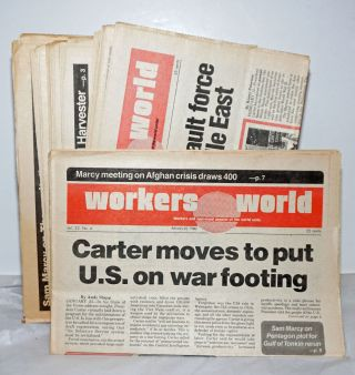 Workers World 1980 15 issues. Vince Copeland Sam Marcy, eds
