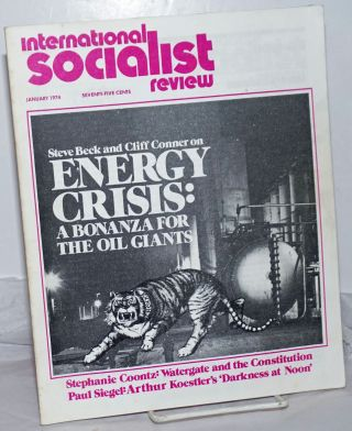 International Socialist Review [January 1974]. ed Les Evans