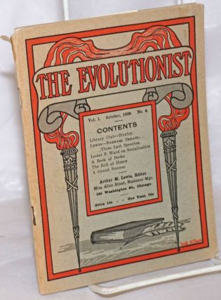 The Evolutionist: Vol. 1 No. 4, October 1909. Arthur M. Lewis, ed