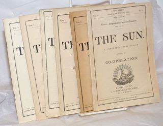 The Sun: A bi-monthly publication devoted to co-operation [five issues, plus a supplement]....