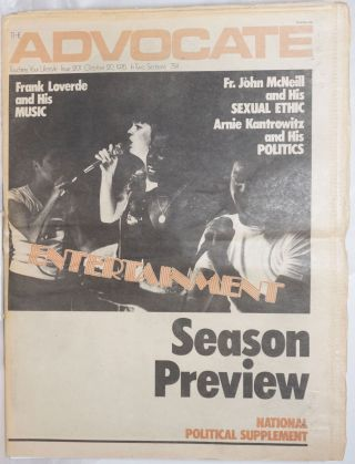 The Advocate: touching your lifestyle; #201, October 20, 1976 in two sections: Season preview