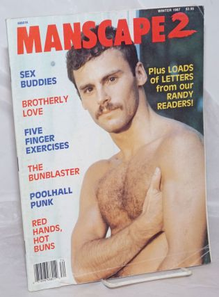 Manscape 2: #9, Winter 1987: Sex Buddies, Brotherly Love