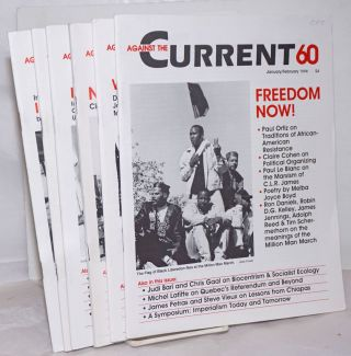 Against the Current [6 issues of the magazine] 1996 - Full run for year