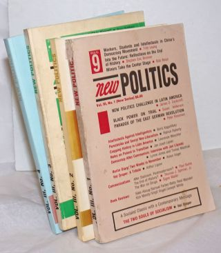 New politics; a journal of socialist thought. Vol. 3, No. 1-4 (New Series whole Nos. 9-12),...