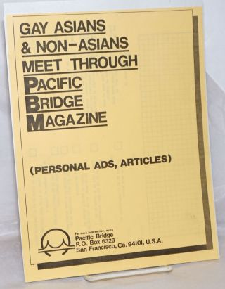 Gay Asians & Non-Asians Meet Through Pacific Bridge Magazine [handbill