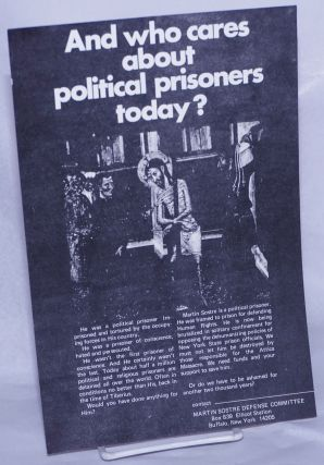 And who cares about political prisoners today? Martin Sostre Defense Committee