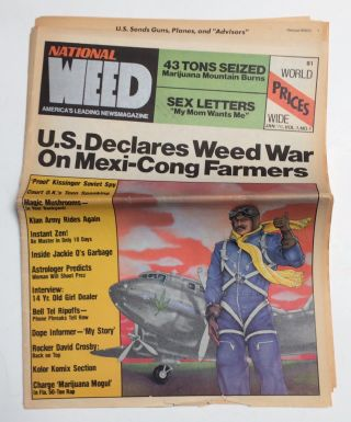 National Weed. Vol. 1, No. 1 (January 1976