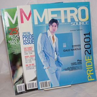 Metrosource: a celebration & exploration of urban gay life; June-August 2001, 2002 & 2004 [3...