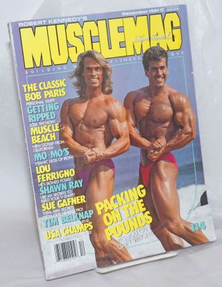 Robert Kennedy's MuscleMag International #114, December, 1991. Robert kennedy, Steve Douglas...