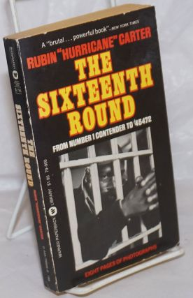 "The sixteenth round, from number 1 contender to #45472. Rubin ""Hurricane"" Carter"