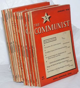 The Communist; Vol. 14 no. 1 to 12, January to December, 1935 a magazine of the theory and...
