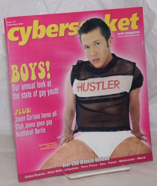 Cybersocket Web Magazine: issue 7.9, September 2005; Boys! Annual look at Gay Youth. Patrick Neighly