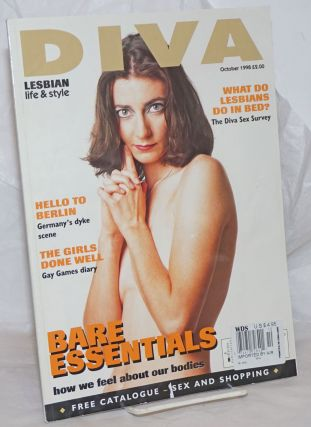 Diva: lesbian life & style; #30, October 1999: Bare Essentials. Gillian Rodgerson, Vicky Powell...