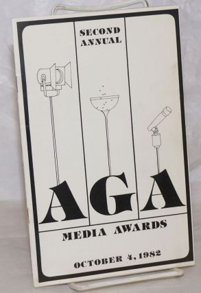 Second Annual AGA Media Awards [program] October 4, 1982