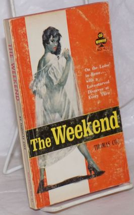 The Weekend (an original novel). Thomas Cox, cover, Rudi Nappi