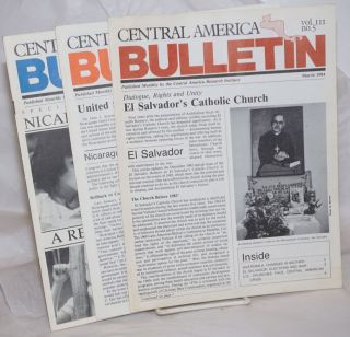 Central America bulletin [1984, 3 issues