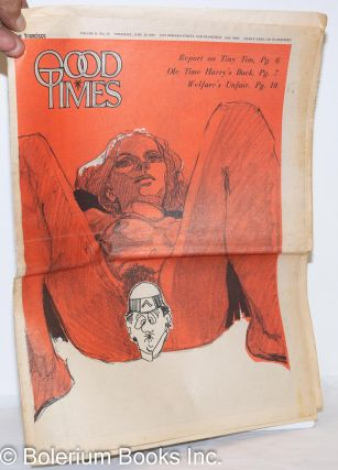Good Times: universal life/ bulletin of the Church of the Times; vol. 2, #24, June 26, 1969:...