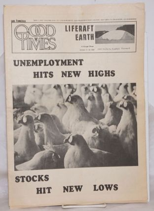 Good Times: universal life/ bulletin of the Church of the Times; vol. 2, #39, October 9, 1969:...