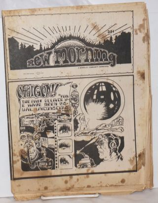 New Morning: a Berkeley community newspaper; November 1972 [likely vol. 2 #9]. Gary Snyder, Loni...